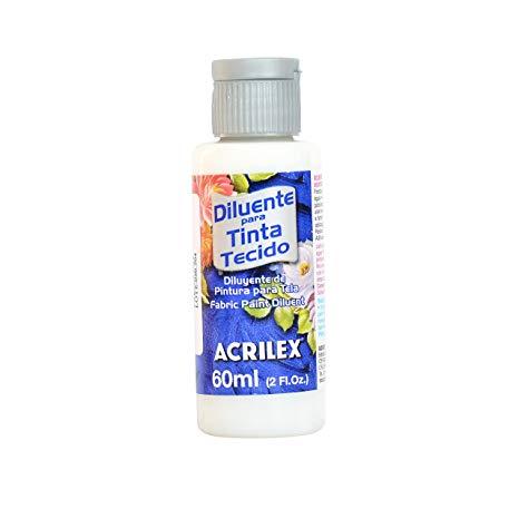 Diluyente Acrilex para tela