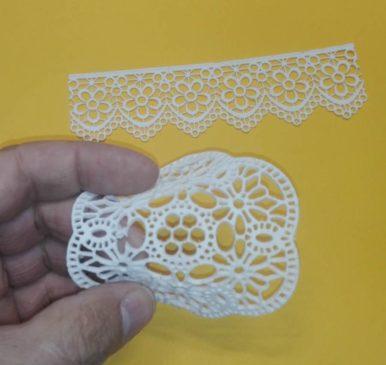 pasta de relieve o textura