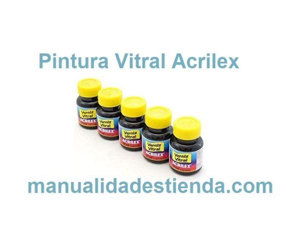 Vitral Acrilex Pintura Vidrio
