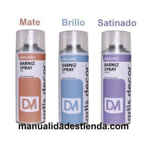 Barniz en Spray para manualidades