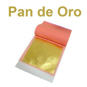 pan de oro decorativo