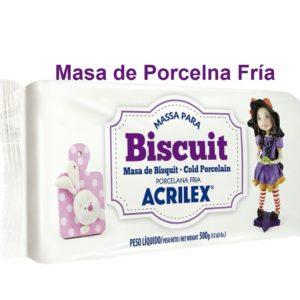 Masa de Porcelana fría Biscuit