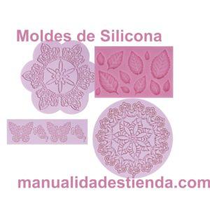 Moldes de silicona para manualidades