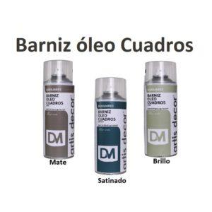 Barniz Spray para cuadros